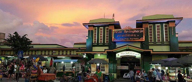 Fasilitas, Lokasi, Rute Menuju Lokasi Pasar Beringharjo