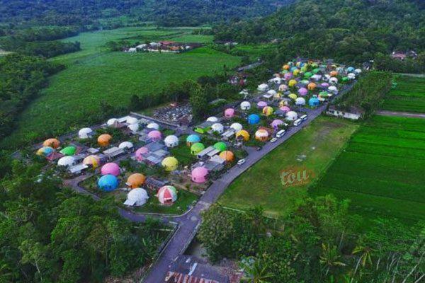 Lokasi Bukit Teletubbies Prambanan
