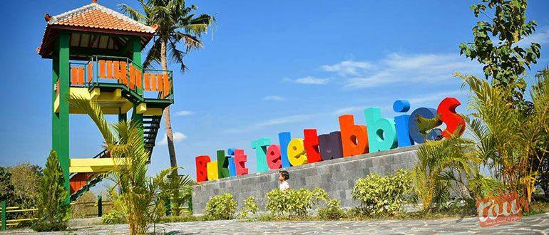 Wisata Alam Bukit Teletubbies Prambanan