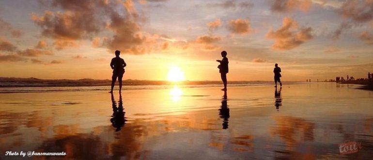 Sunset Tak Tertandingi Pantai Parangtritis