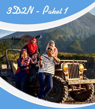 Paket Wisata Jogja 3 Hari 2 Malam - Paket Tour Jogja 3D2N 1
