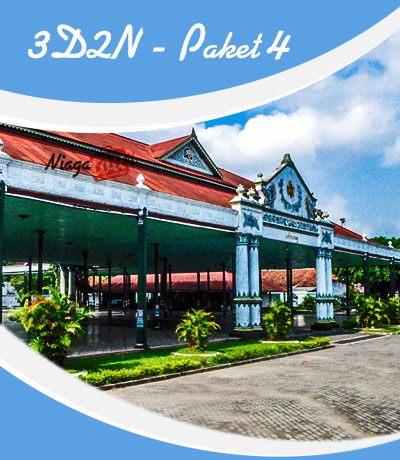 Paket Wisata Jogja 3 Hari 2 Malam - Paket Tour Jogja 3D2N 4