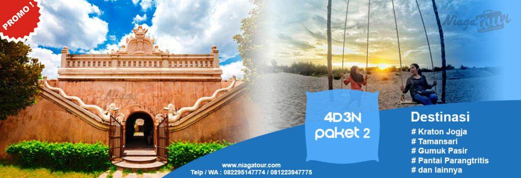 Paket Wisata Jogja Murah 4 Hari 3 Malam | Paket Tour Jogja 4D3N 2