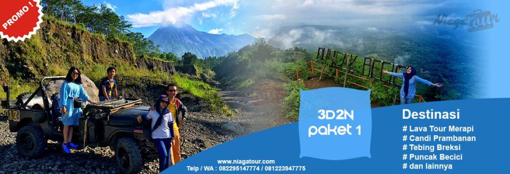 Paket Wisata Yogyakarta 3 Hari 2 Malam 3d2n 1