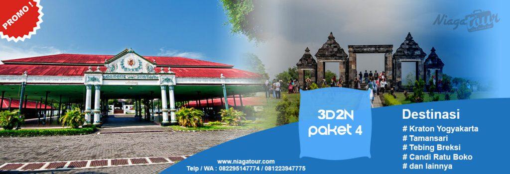 Paket Wisata Yogyakarta 3 Hari 2 Malam 3d2n 4