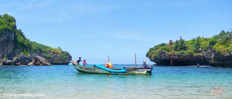 Tiket Masuk, Fasilitas, Lokasi, Rute Menuju Lokasi Pantai Gesing