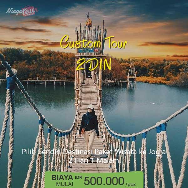 Custom Tour Jogja 2 Hari 1 Malam