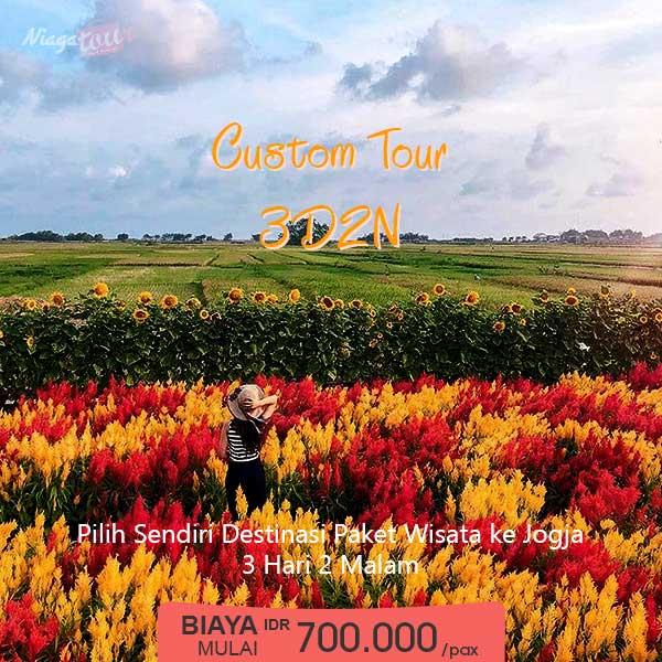 Custom Tour Jogja Murah 3 Hari 2 Malam