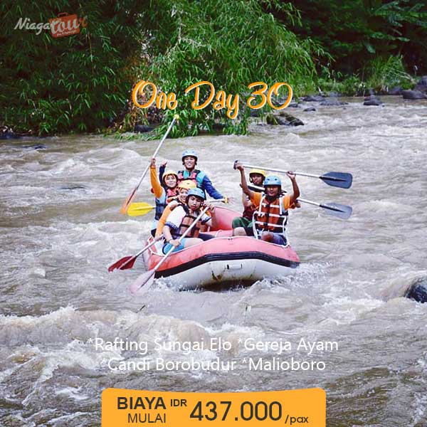 Paket Liburan Yogyakarta Sehari Murah - Paket 30
