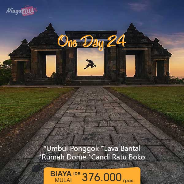 Paket Liburan Yogyakarta 1 Hari Murah - Paket 24