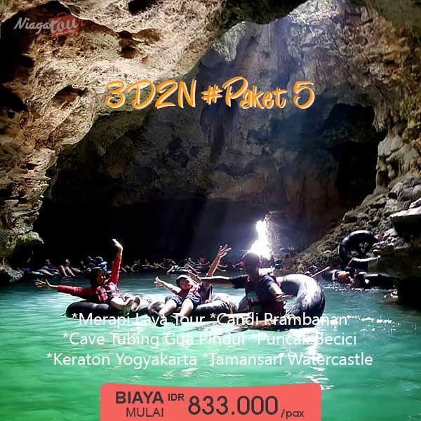 Paket Tour Yogyakarta 3 Hari 2 Malam - Paket 5