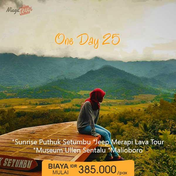Paket Wisata Jogja Sehari Murah - Paket 25
