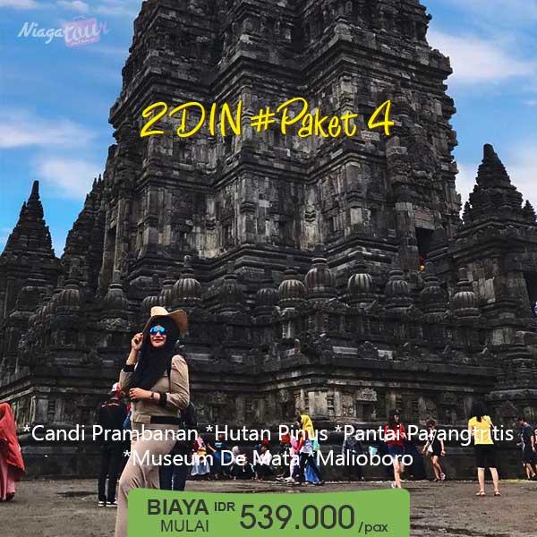 Paket Wisata Yogyakarta 2 Hari 1 Malam - Paket 4
