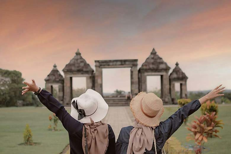 wisata candi ratu boko
