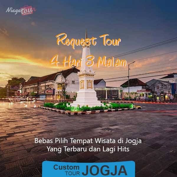 Custom Tour Jogja 4 Hari 3 Malam