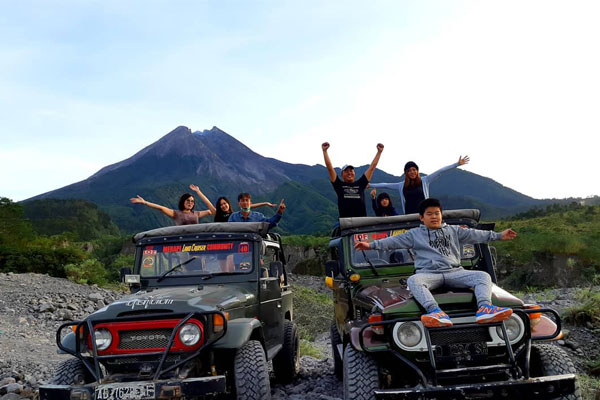 Jeep Merapi Lava Tour