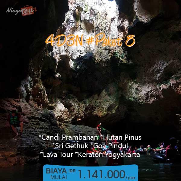 Paket Tour Jogja Murah 4 Hari 1 Malam - 4D3N 8