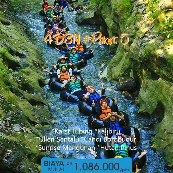 Paket Tour Yogyakarta 4 Hari 1 Malam - 4D3N 5