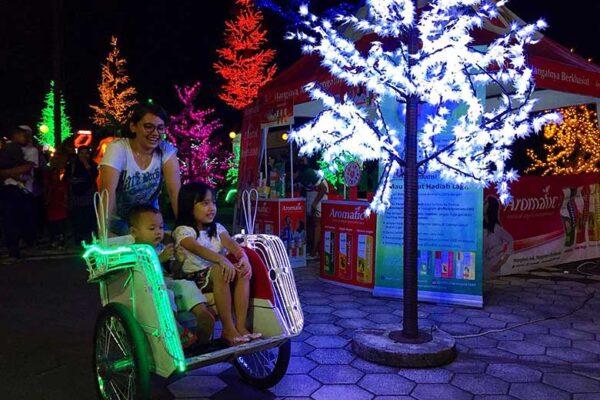 Tempat Wisata Taman Lampion Monjali