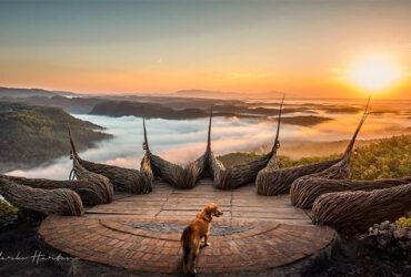 Potret Keindahan Sunrise dan Sunset di Watu Payung