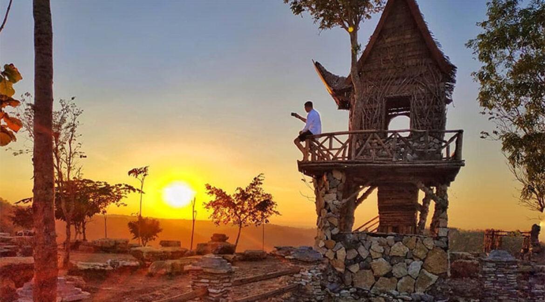 Tebing Watu Mabur, Melihat Panorama Indah Kota Jogja Dengan Biaya Murah