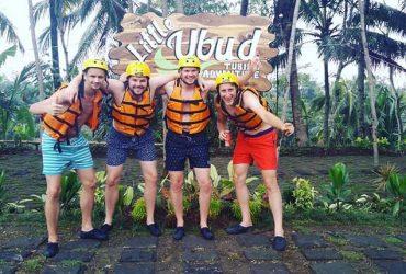 Little Ubud River Tubing, Liburan Susur Sungai Menegangkan Sekaligus Menyenangkan